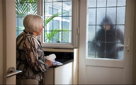 Residents got daytime visitors,  who were looking for unoccupied homes.