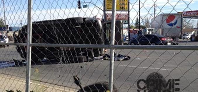 Sex Offender Arrested After Crashing Car During Chase