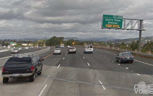 The officer later spotted a drunk driver on the 101 near the Santa Rosa exit.
