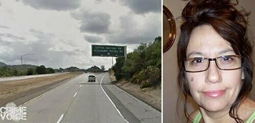 Highway 101 where Karen Marquez (Facebook) was spotted speeding.