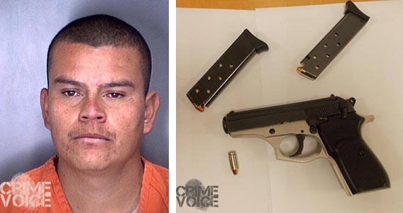 Omar Diaz, and the weapon found in his possession.
