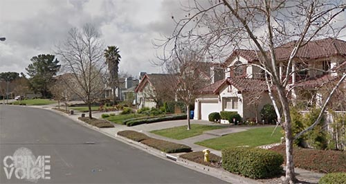 Police were summonded to this upscale Petaluma neighborhood on a domestic violence call.