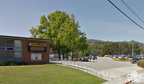 Novato High School is near the are of the explosions.