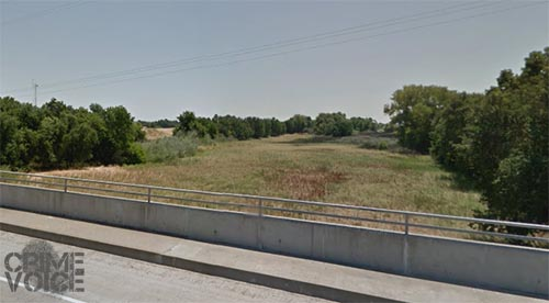 Image of Ridge Cut Slough from Google Maps.