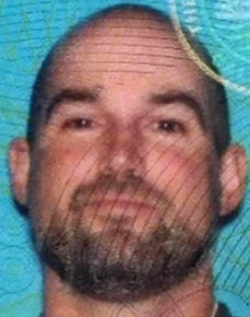 Suspect Christopher McNatt - Photo CA DMV