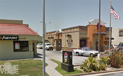 Bose is accused of robbing this Taco Bell at 4 am.