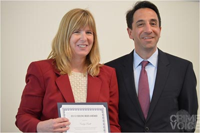 Santa Clara DA Jeff Rosen with Deputy DA Carolyn Powell.