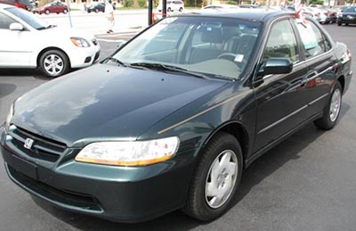 The shooters were in a green Honda Accord similar to this one.