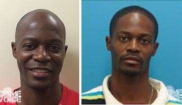 Indugo Williams, Megan's Law photo and 2011 booking photo.