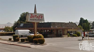 Ramos was  spotted near Jerry's Restaurant.