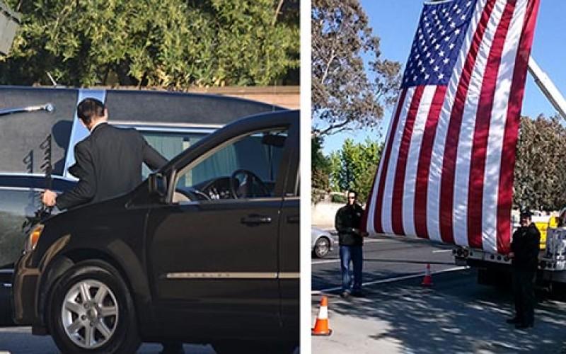 Memorial held for fallen San Jose Police Officer Michael Johnson #3817