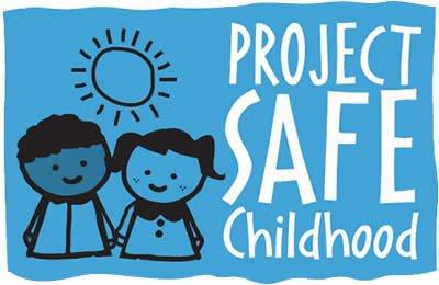 project safe childhood logo