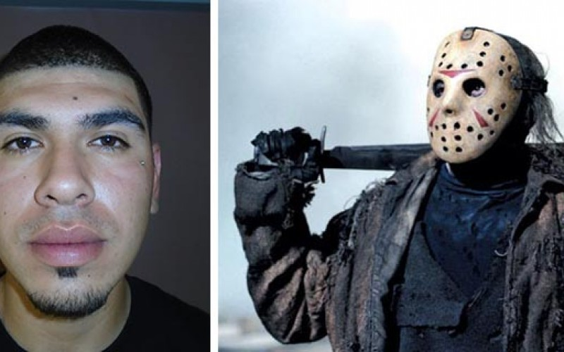 """Police Arrested """"Jason"""" Look-a-like for Robbery"""