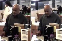 Bank robbery suspect wanted by San Jose Police