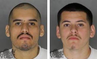 Garcia and Eales booking photos from Placer County