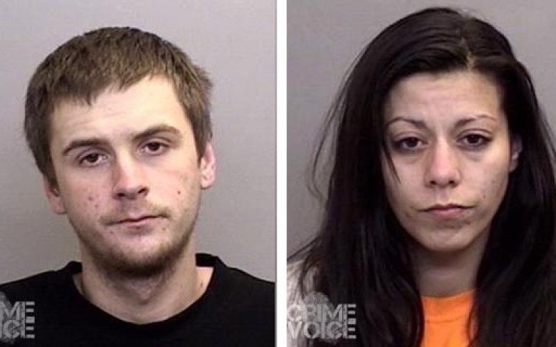 Young couple arrested for stolen truck, drugs, weapons