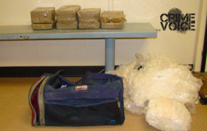 Border Patrol displays seized cocaine