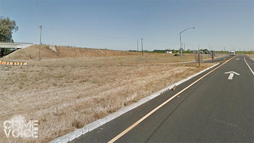 Erickson was traveling down this exit at high speed when he lost control and hit the car on the opposite on-ramp.