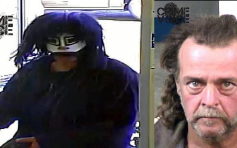 Alleged Mask-Wearing Bank Robber Arrested in Fresno