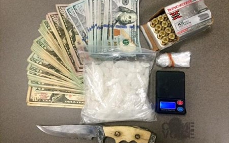 Lamont Man Arrested During Traffic Stop for Selling Meth