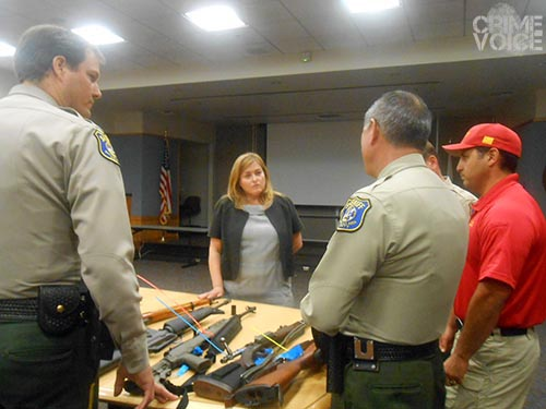 Supervisor Cindy Chavez worked with the Sheriff's Department to make the event a success.