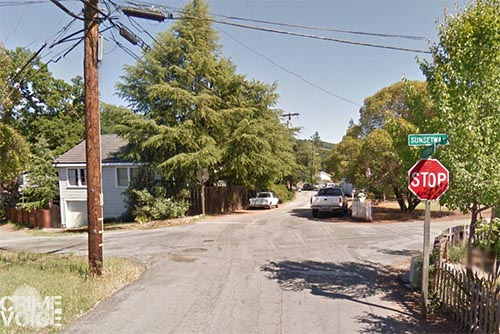 The stolen vehicle was tracked to Sunset and Fetters in Sonoma.
