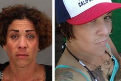 Female suspect taken into custody after trying to flee police suspected to be a burglar