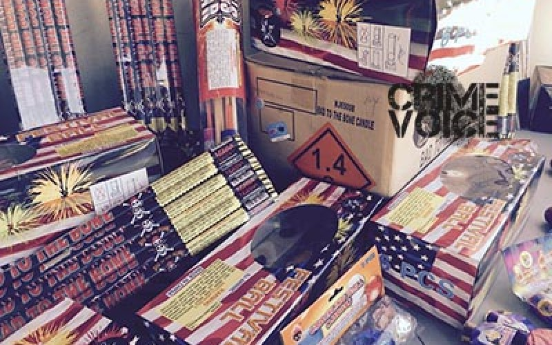 Gas Station Thief Busted for Possession of Fireworks