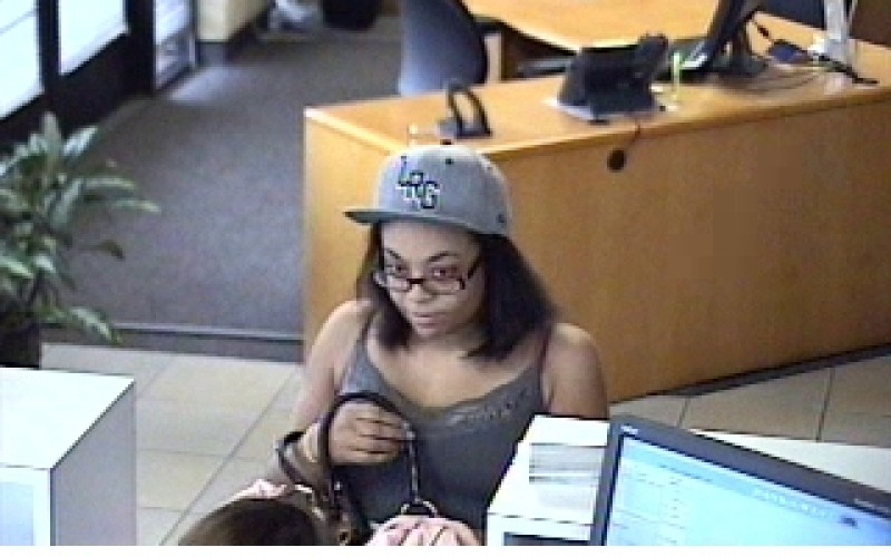 Police Search for Young Female Bank Robber