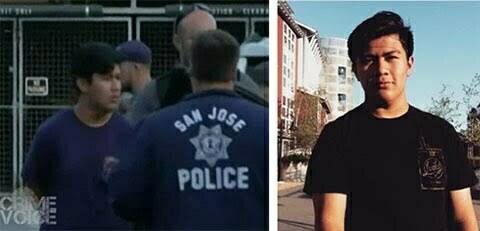 Adrian Gonzalez taken into custody, and image from his Instagram account.