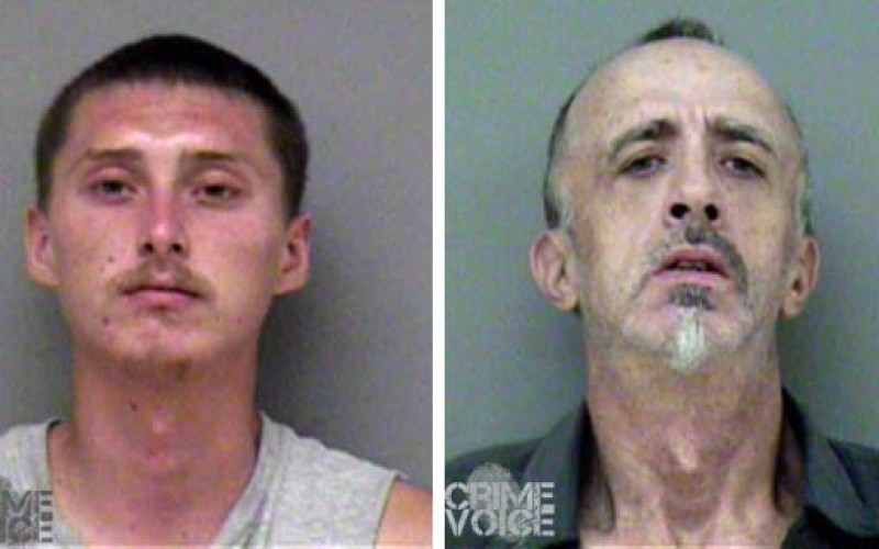 Mobile home neighbors arrested in Madera