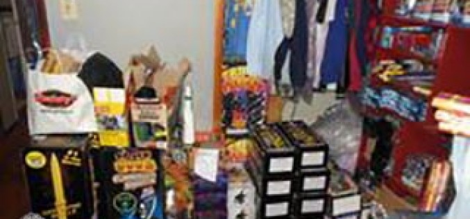 Deputies Seize a Substantial Amount of Illegal Fireworks, Explosives