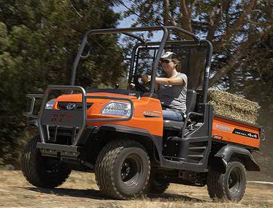 Not many people have a vehicle like this in their driveway. (Kubota.com)