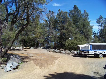 A photo of the Red Mountain Campground from FreeCampsites.net