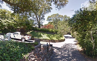 Upper Toyon Drive is a narrow winding road running between distinctive homes in the Fairfax area.