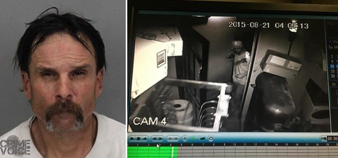 Transient Arrested for Burglary of Pizzeria