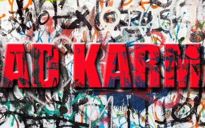 Bad Karma and No Hope, Graffiti Vandal Tagged in Sonoma
