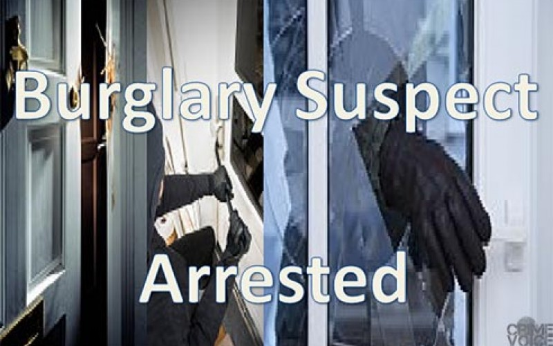 Construction site burglary ends in arrest later in the day