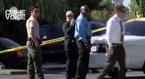 Police on scene at the Motel 6