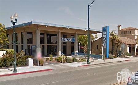 The Chase Bank on Main Street, Watsonville.