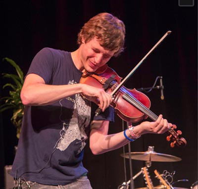 Lewis performs with A Thousand Years At Sea
