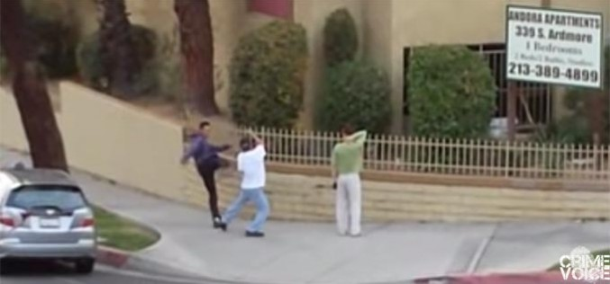A Parking Infraction Seemingly Leads to an Intense Fight
