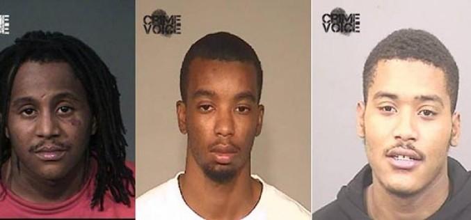 Three Gang Members Arrested Following Traffic Stop
