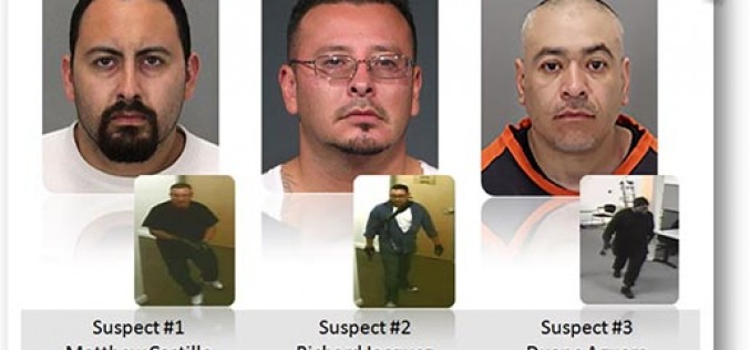 SJPD Officers have arrested three suspects in the murder of two separate victims