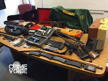 Sheriffs display seized property