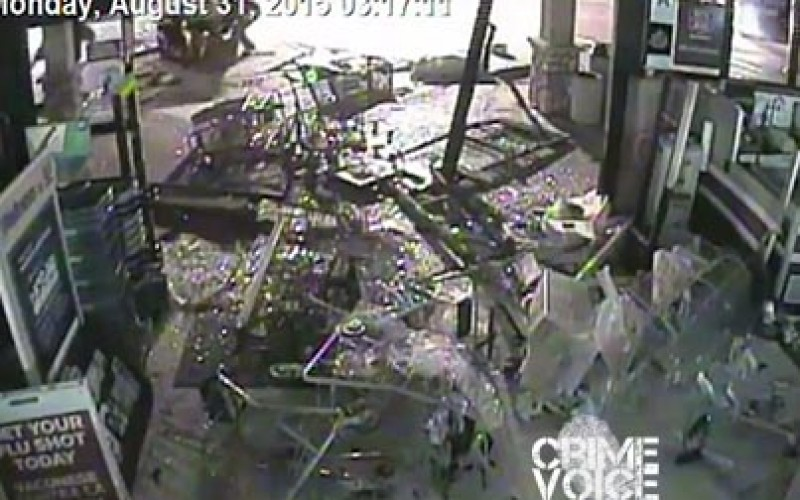 Suspects Wanted in ATM Machine Theft