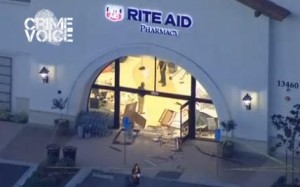 Aerial view of Carmel Valley Rite Aid
