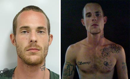 Jeremiah McGinnis, Lake County booking photo and image from Facebook.