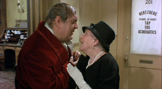 Max (Zero Mostel) and one of his investors in The Producers