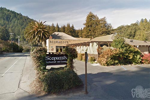 The stabbing occurred in the parking lot of Scopazzi's Restaurant.